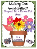 """Making Coin Combinations! """"Buy and Fill a Flower Pot"""" Game"""