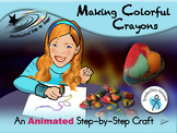 Making Colorful Crayons - Animated Step-by-Step Craft - SymbolStix