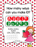 Making Combinations of 10 - Apple Boxes