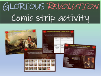 Making Comic Strips for England's Glorious Revolution: 20-