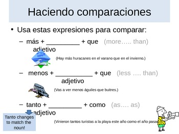 Making Comparisons Expresate Chapter 9 Spanish 2