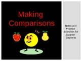 Making Comparisons in Spanish - PowerPoint