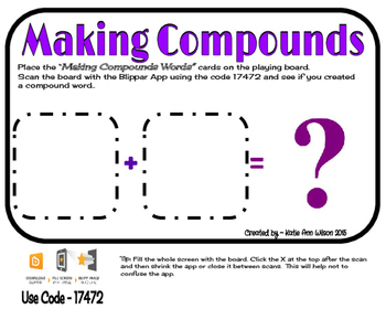 Making Compound Words Augmented Game - Part 1