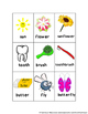 Making Compound Words (Picture Word Cards and Worksheets)