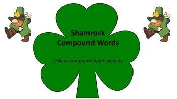 Making Compound Words (Shamrocks)