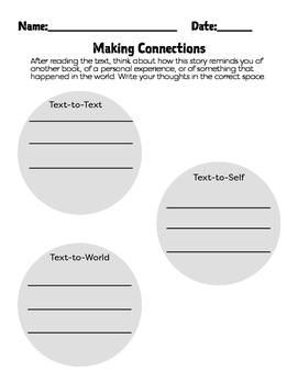 Making Connections - 3 Ways