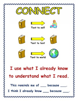 'Making Connections' Anchor Chart