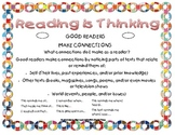 Making Connections Bookmark and Graphic Organizer