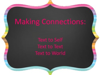 Making Connections Bookmark and Organizer