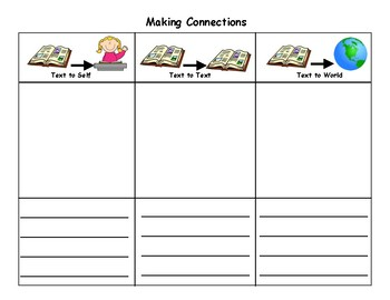 Making Connections Chart