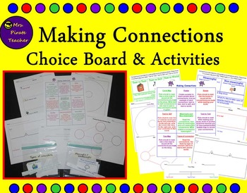 Making Connections Choice Board and Activities