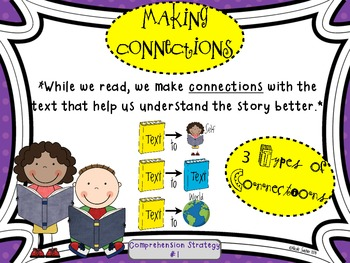 Making Connections: Comprehension Strategy #1 (Connect the Dots)