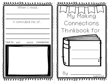 Making Connections Foldable Thinkbooks