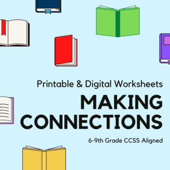 This is a photo of Making Connections Worksheet Printable inside 3rd grade