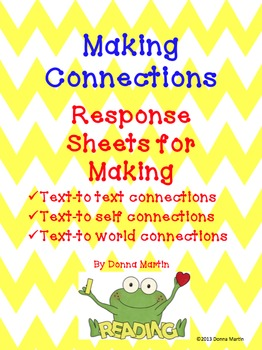 Making Connections Graphic Organizers for Comprehension Strategies