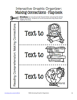 Making Connections Graphic Organizers for Guided Reading