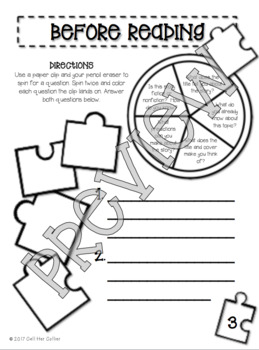 Making Connections Guided Reading Packet