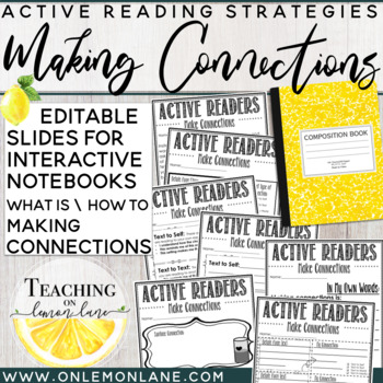 Making Connections / Guided Reading / What Good Readers Do