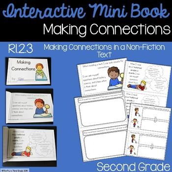 Making Connections Interactive Mini Book {RI.2.3}