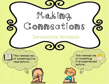 Making Connections Interactive Notebook -- Pockets and Sort