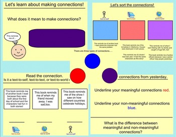 Making Connections Lessons and Activities (Smartboard)