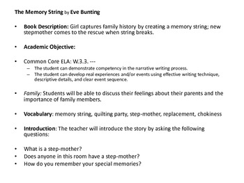 Making Connections Mentor Text Lesson Plans and Extension Activity Ideas