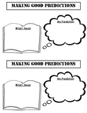 Making Predictions Organizer