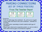 Making Connections Posters - Polka Dot Theme