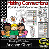 Reading Workshop Anchor Chart - Making Connections Posters & Response Sheets