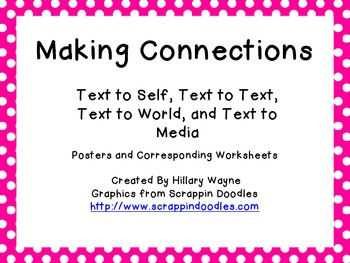 Making Connections Posters and Worksheets