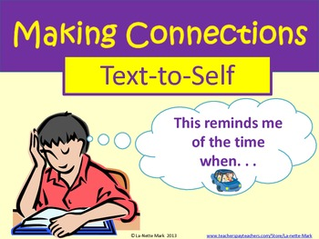 Making Connections Posters with Worksheet