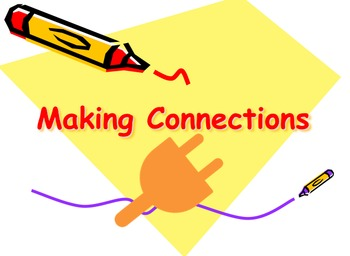 Making Connections Powerpoint Text to Self, Text, World