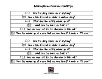 Making Connections Question Strip