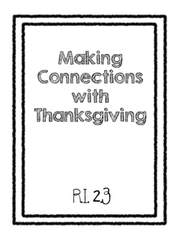 Making Thanksgiving Connections R.I. 2.3