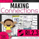 Making Connections 2nd Grade RI.2.3 with Digital Learning Links - RI2.3
