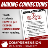 Making Connections Reading Comprehension Strategy Lesson