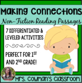 Making Connections: First Grade Reading Passages