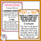 Making Connections Reading Posters - Classroom Decoration