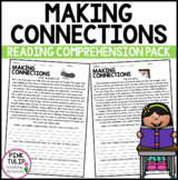 Making Connections (Connecting) - Reading Worksheet Pack