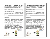 Making Connections Resources (Rubric - Poster - Bookmark- Assessments)