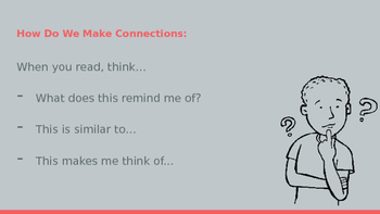 Making Connections - Text to Self Connections