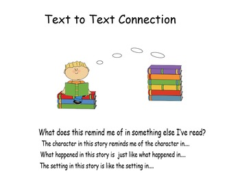 Making Connections: Text to Self, Text to Text, Text to World