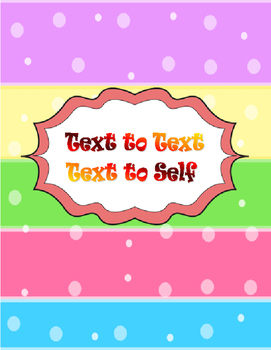 Making Connections: Text to Text and Text to Self