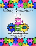Making Connections Unit, aligned to common core standards, grades 3-5