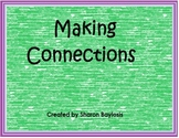 Making Connections Writing Template for Literacy Centers or Guided Reading