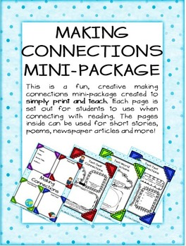 Making Connections in Reading Student Package