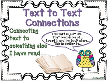Making Connections in Reading with Owls!