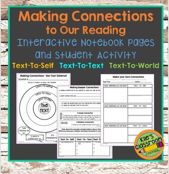 Making Connections to Our Reading Student Guided Notes and Activity