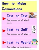 Making Connections to text poster