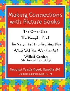 Making Connections With Picture Books Second Grade Book Bundle 4 Ccss